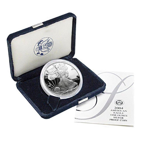 2004-W Proof American Silver Eagle