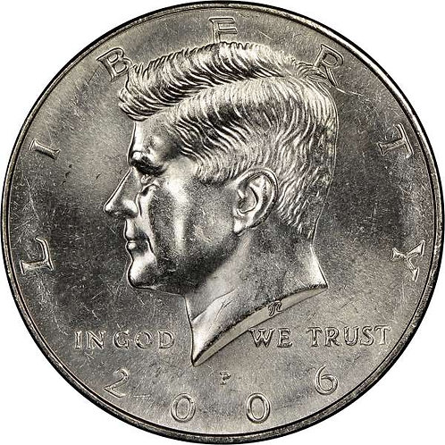 2006-P Kennedy Half Dollar in BU