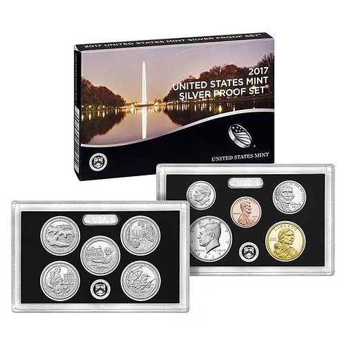 2017 U.S. Silver Proof Set