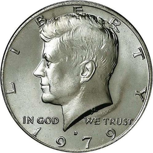 1979-D Kennedy Half Dollar in BU