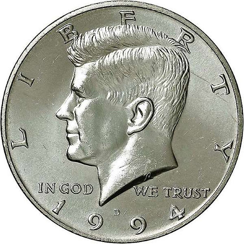 1994-D Kennedy Half Dollar in BU