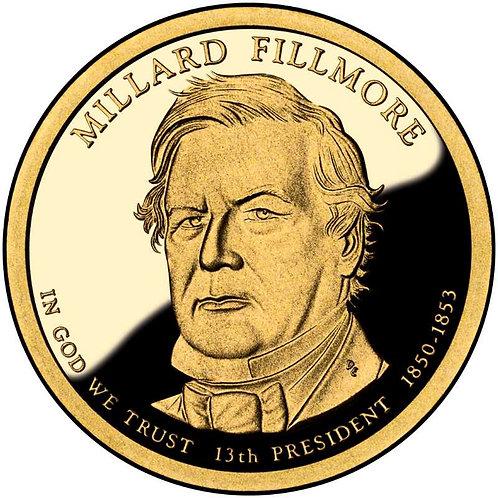 2010-S Millard Fillmore Presidential Dollar Proof