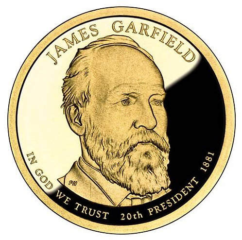 2011-S James Garfield Presidential Dollar Proof