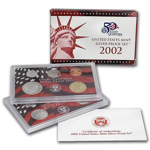 2002 U.S. Silver Proof Set