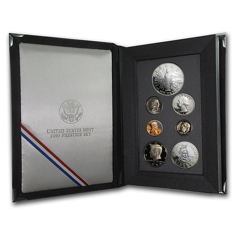 1989 U.S. Prestige Proof Set