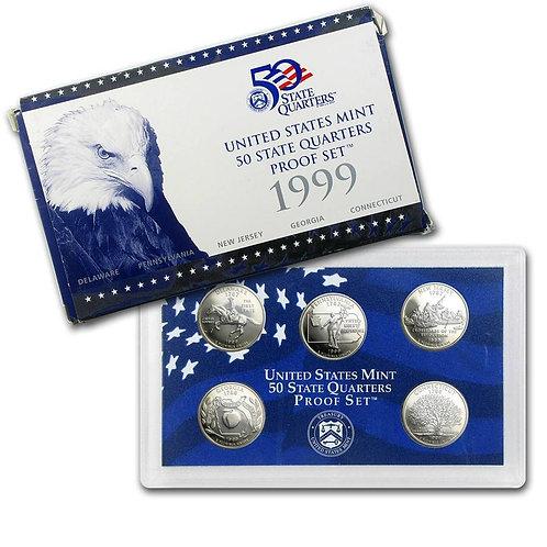 1999 Statehood Quarter Proof Set