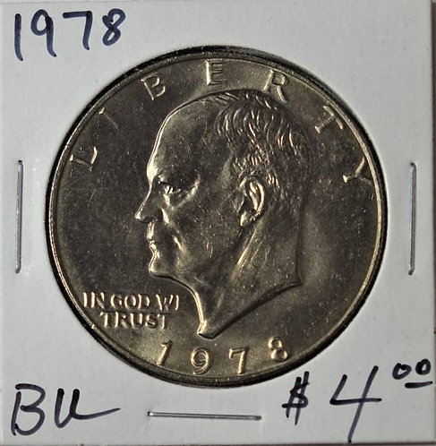 1978 Eisenhower Dollar in BU