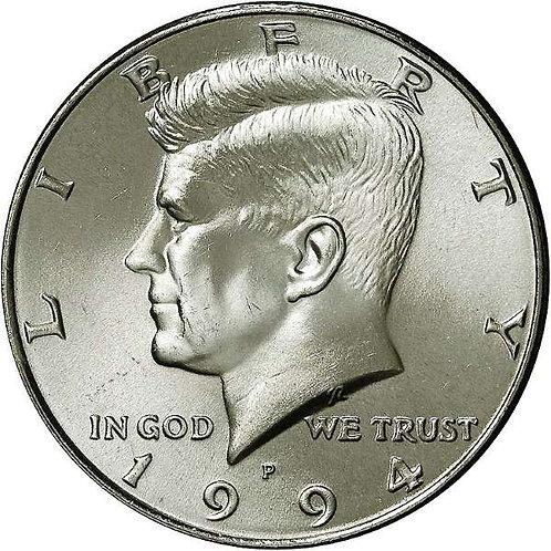 1994-P Kennedy Half Dollar in BU