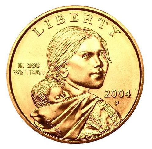 2004-P Sacagawea Dollar in BU