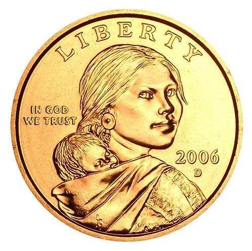 2006-D Sacagawea Dollar in BU