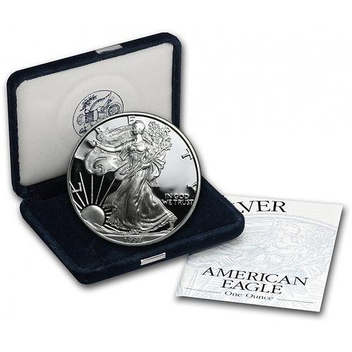 1997-P Proof American Silver Eagle