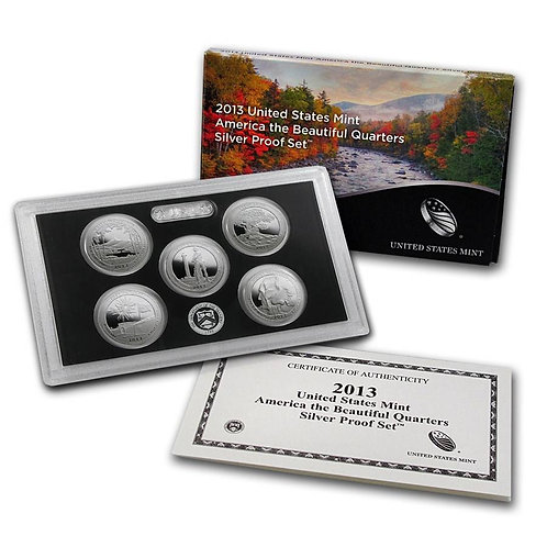 2013 ATB Silver Proof Set