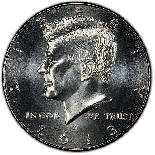 2013-P Kennedy Half Dollar in BU