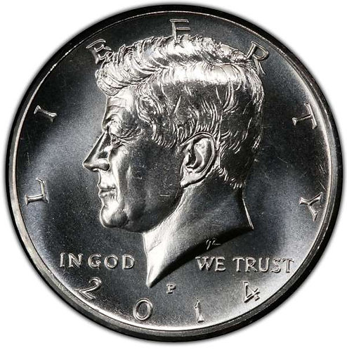 2014-P Kennedy Half Dollar in BU
