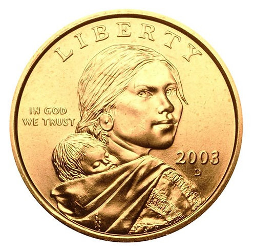 2003-D Sacagawea Dollar in BU