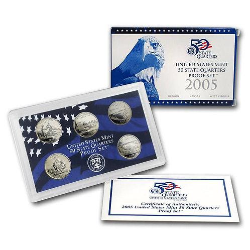 2005 Statehood Quarter Proof Set