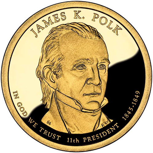 2009-S James Polk Presidential Dollar Proof