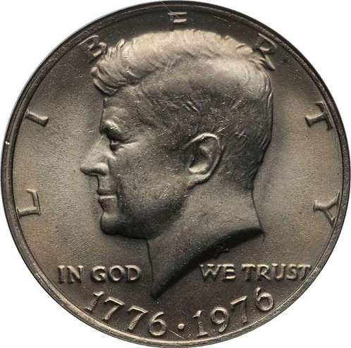 1976 Kennedy Half Dollar in BU