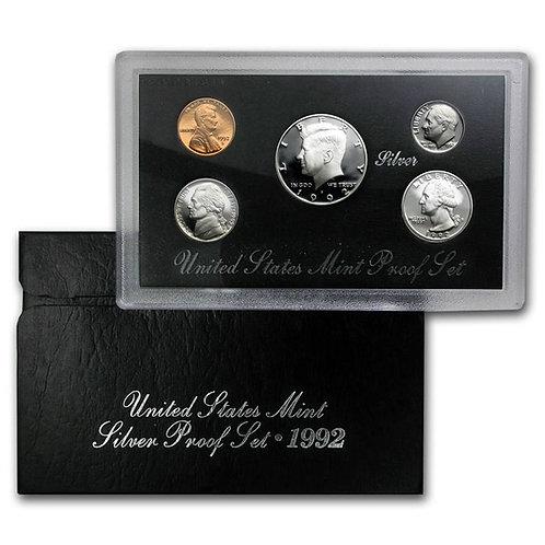 1992 U.S. Silver Proof Set