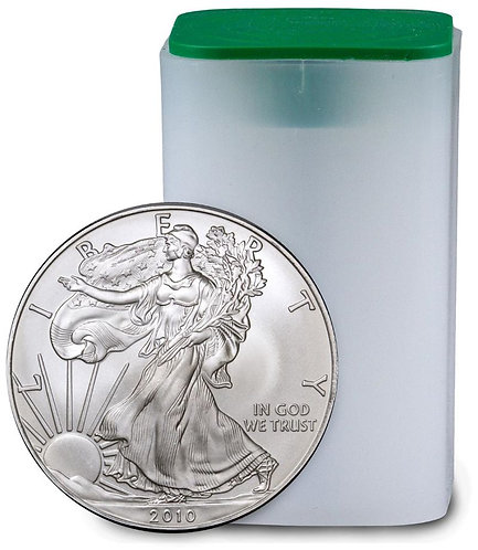 2010 1-oz American Silver Eagle in BU