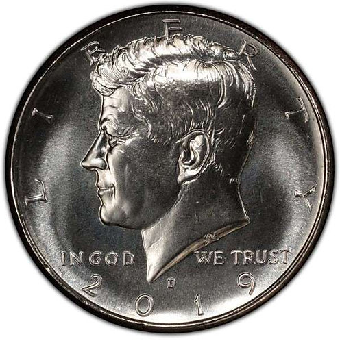 2019-D Kennedy Half Dollar in BU