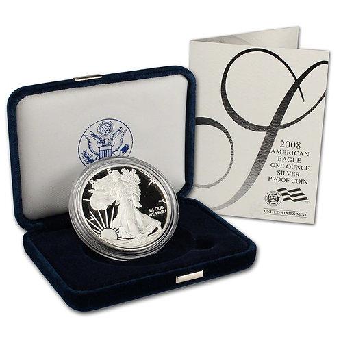 2008-W Proof American Silver Eagle