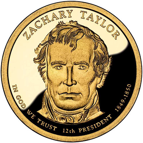 2009-S Zachary Taylor Presidential Dollar Proof