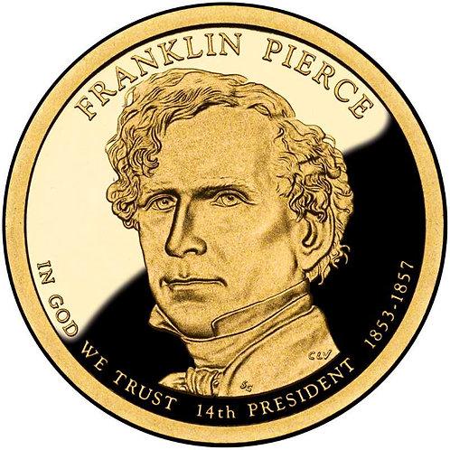 2010-S Franklin Pierce Presidential Dollar Proof
