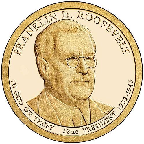 2014-S Franklin Roosevelt Presidential Dollar Proof