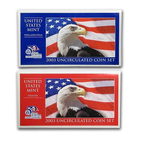 2003 U.S. Mint Set