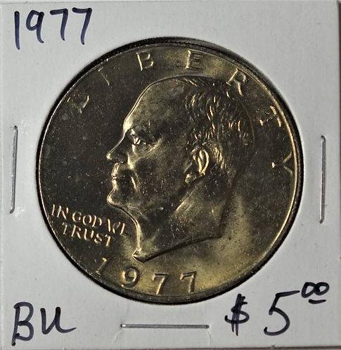 1977 Eisenhower Dollar in BU