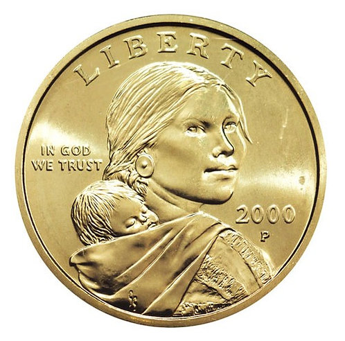2000-P Sacagawea Dollar in BU