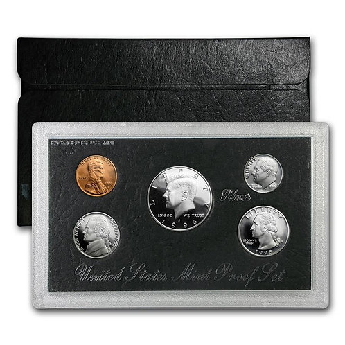 1998 U.S. Silver Proof Set