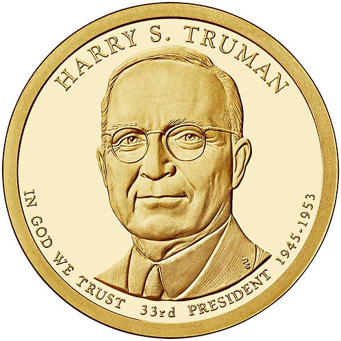 2015-S Harry Truman Presidential Dollar Proof