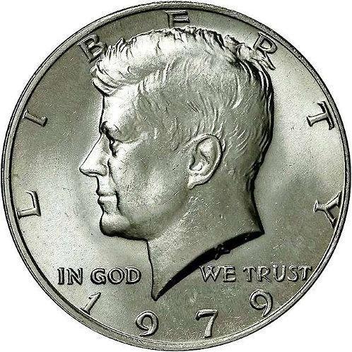 1979 Kennedy Half Dollar in BU