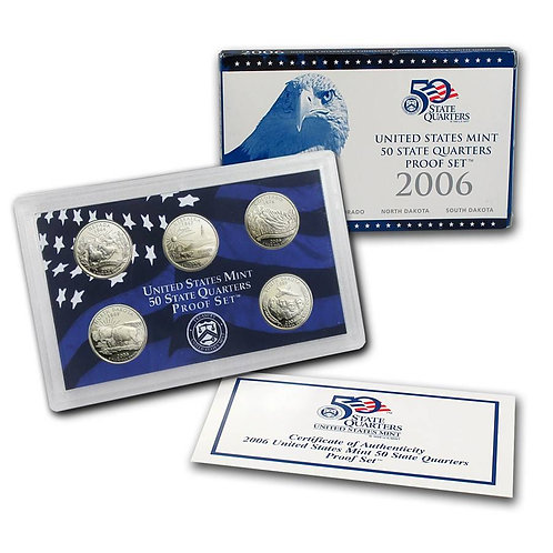 2006 Statehood Quarter Proof Set