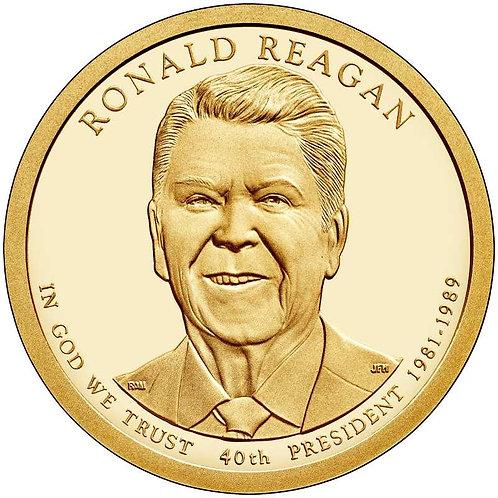 2016-S Ronald Reagan Presidential Dollar Proof