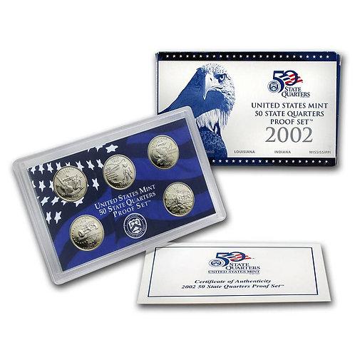 2002 Statehood Quarter Proof Set