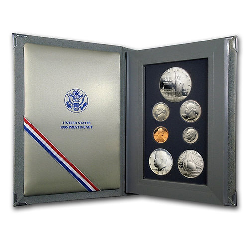 1986 U.S. Prestige Proof Set