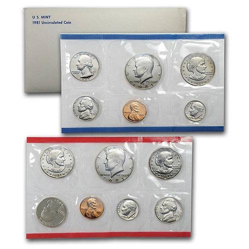 1981 U.S. Mint Set
