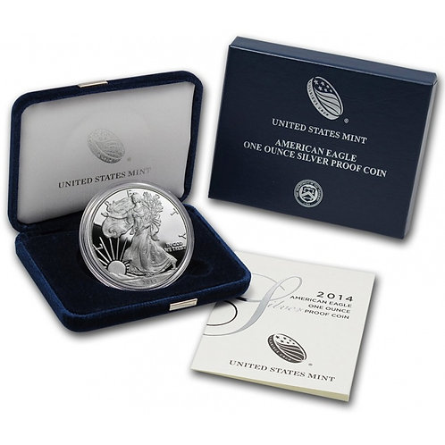 2014-W Proof American Silver Eagle