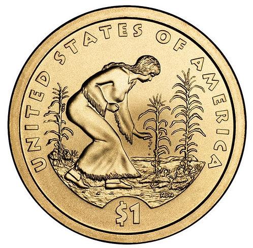 2009-D Native American Dollar in BU