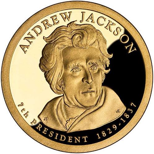 2008-S Andrew Jackson Presidential Dollar Proof