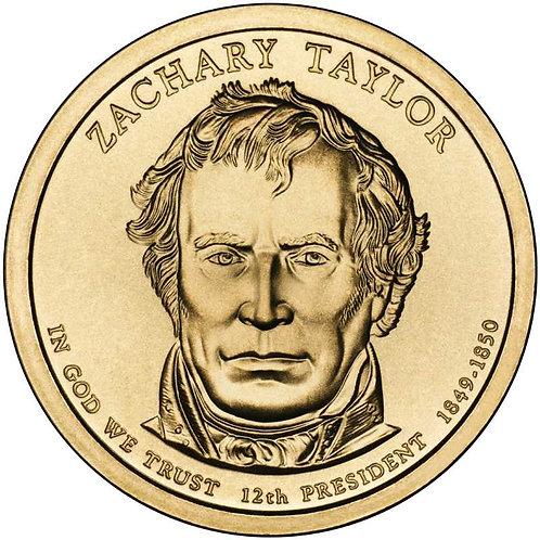2009-D Zachary Taylor Presidential Dollar in BU