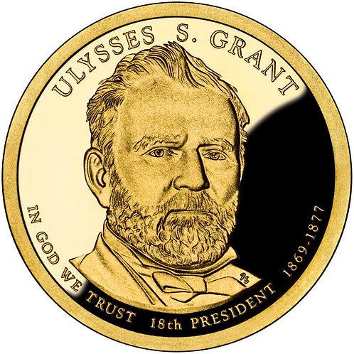 2011-S Ulysses Grant Presidential Dollar Proof