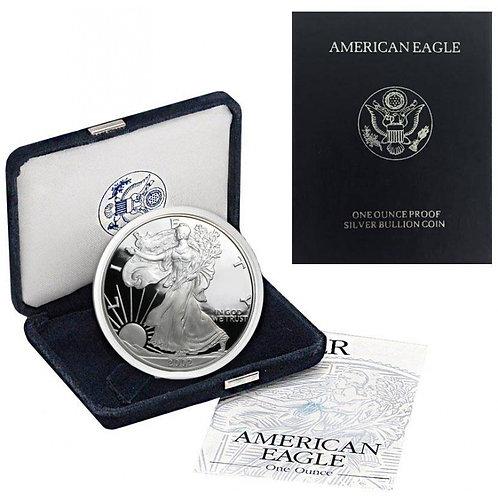 2002-W Proof American Silver Eagle