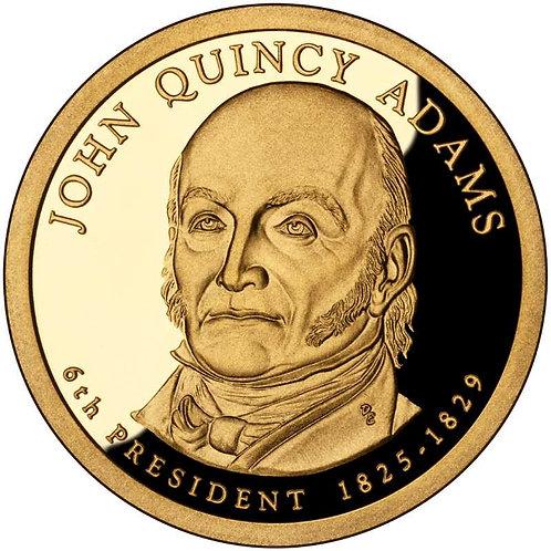 2008-S John Quincy Adams Presidential Dollar Proof