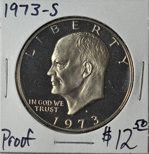 1973-S Proof Eisenhower Dollar