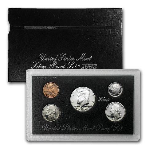 1993 U.S. Silver Proof Set