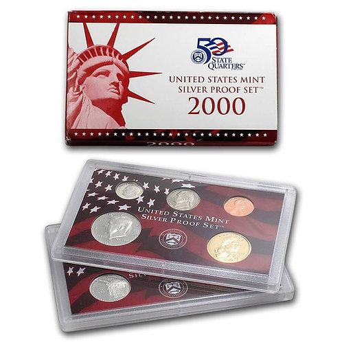 2000 U.S. Silver Proof Set